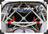 Roll cage of Ford Focus '03 WRC
