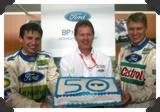 Ford's 50th consecutive points finish