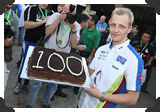 Mikko Hirvonen's 100th WRC start